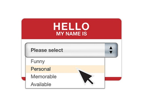 personal name tag